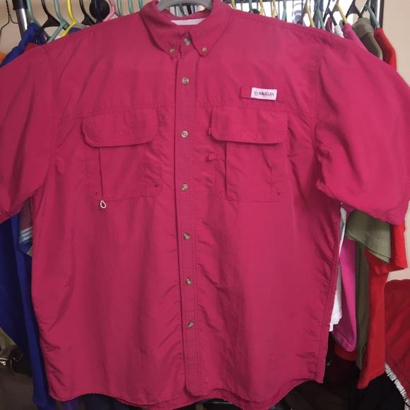 efe7c0a2fed Magellan Outdoors Shirts | Xxl Fish Gear Button Down | Poshmark